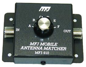 MFJ-910 Mobile Matcher Tuner