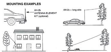 ICOM AH-4 Automatic Antenna Tuner, ICOM AH4