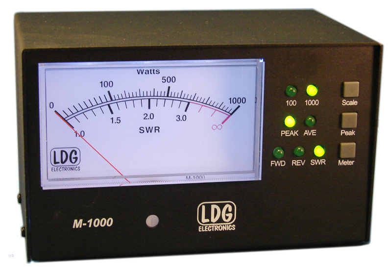 The LDG M-1000 is an optional meter for the AT-1000Pro2 automatic ...