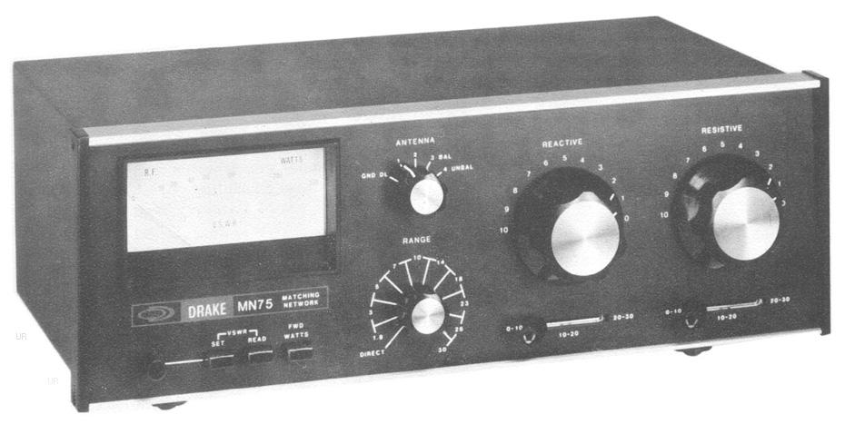 Drake MN-75 Matching Network Antenna Tuner