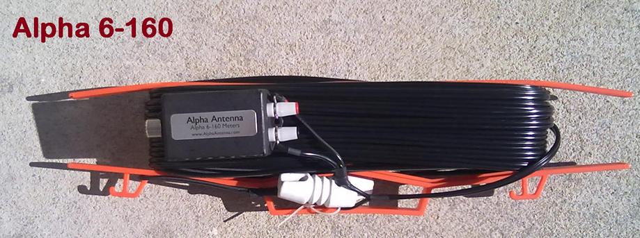 Alpha 6-160, Alpha 6160 HF J-Pole Antenna