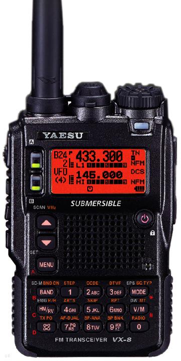 Yaesu VX-8R, Yaesu VX-8DR Amateur HT VX8R