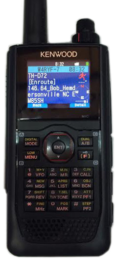 TH-D72A Amateur Radio
