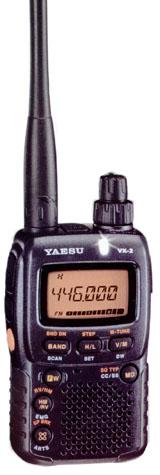 Портативная радиостанция (рация) Yaesu VX-2R.
