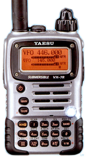 Yaesu Vx 7r Vx 7rb Amateur Ht Vx7r