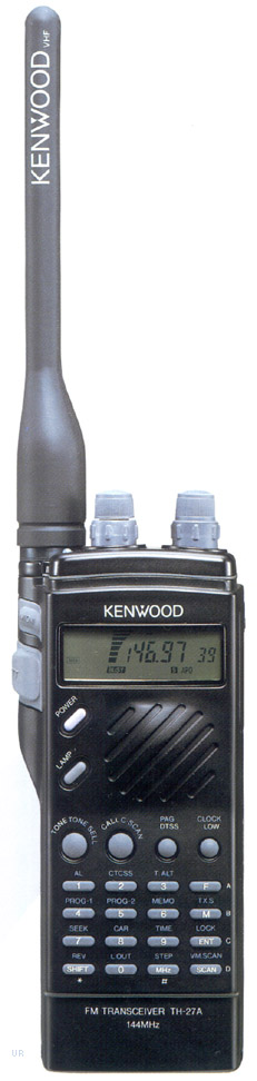 Kenwood TH-F6A Amateur Radio HT THF6