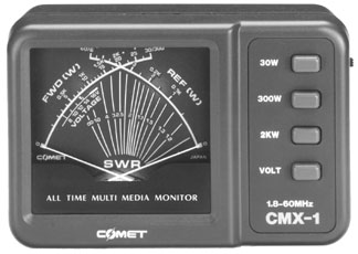 Comet CMX1 SWR Power Meter CMX-1, Comet EKS3