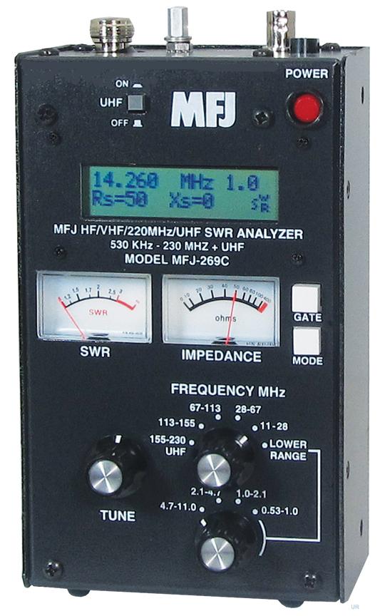 Mfj 269c Mfj 269c Pro Signal Analyzer