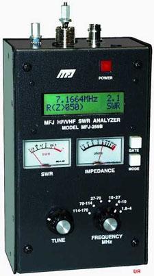 MFJ-259B SWR Analyzer
