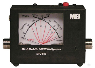 You Are Strong >> MFJ-818 SWR Wattmeter