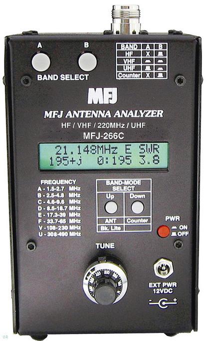 MFJ-266C Antenna Analyzer, MFJ266C