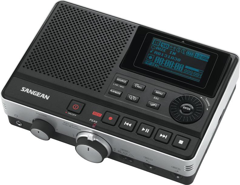 sangean dar 101 digital mp3 audio recorder. Black Bedroom Furniture Sets. Home Design Ideas