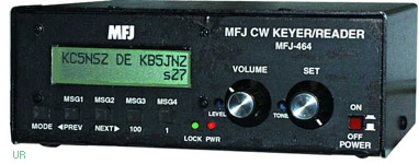 MFJ-464 Morse Code Reader and Keyer MFJ464