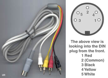 2907lrg din cable 5 pin din wiring diagram audio at virtualis.co