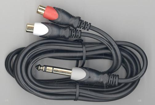 Quarter Inch Plug Audio Cable