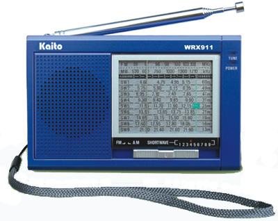 Kaito WRX911 portable shortwave radio wrx-911