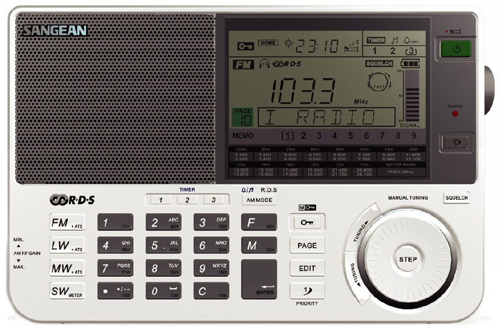 sangean ats 909x portable shortwave radio ats909x. Black Bedroom Furniture Sets. Home Design Ideas