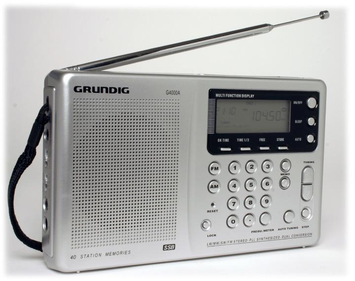 Grundig G4000A, Grundig G4000 Portable Shortwave Radio