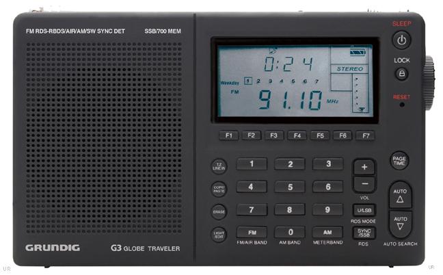 Grundig G3 Globe Traveler Radio Receiver