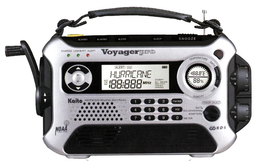 Kaito Ka600 Voyager Pro Radio Receiver