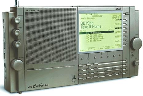 Eton e1 xm radio, grundig satellit 900.