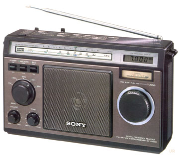 Sony icf 6500 shortwave radio icf6500w for Icf pricing