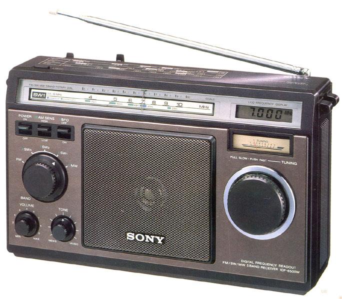 sony icf 6500 shortwave radio icf6500w. Black Bedroom Furniture Sets. Home Design Ideas