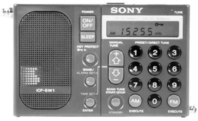 Sony Icf Sw1 Shortwave Radio Icfsw1s