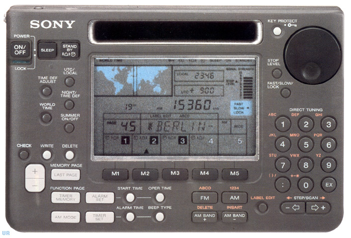 Sony icf sw55 shortwave radio icfsw55 options larger image sciox Image collections