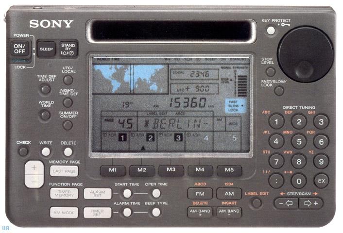Sony Icf Sw55 Shortwave Radio Icfsw55