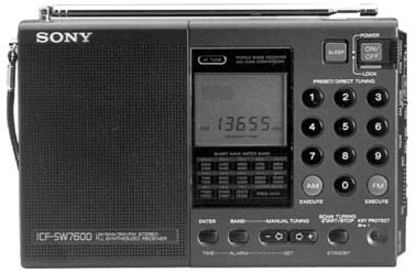 Sony Icf Sw7600 Shortwave Radio Icfsw7600