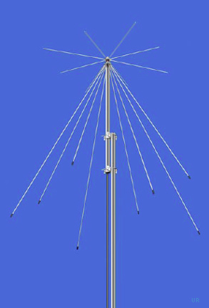Icom Ah8000 Discone Antenna Ah 8000