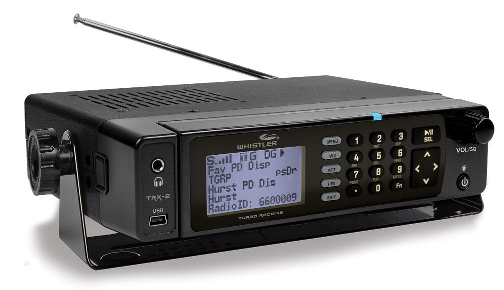Whistler TRX-2 Digital/Analog Police Scanner Desktop DMR TRB