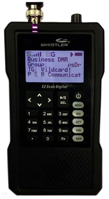 Whistler TRX-1 Scanner Radio