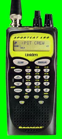 Uniden Bearcat SC180 Sportcat Scanner