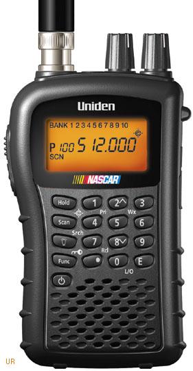 Rechargeable Alkaline Batteries >> Uniden Bearcat BC72XLT Scanner, BC-72XLT