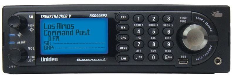 Uniden Bearcat BCD996P2 Digital Scanner BCD-996P2