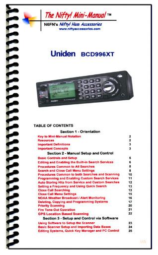 Uniden Bearcat BCD996XT Digital Scanner BCD-996XT