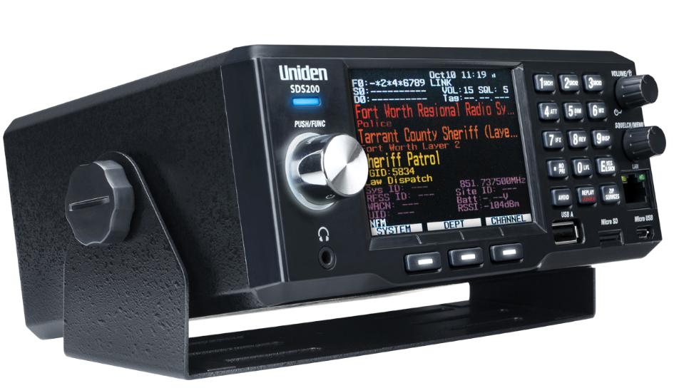 Uniden Bearcat SDS200 Scanner