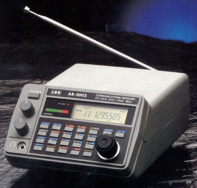 Aor Ar2002 Monitor Receiver Aor Ar 2002 Scanner