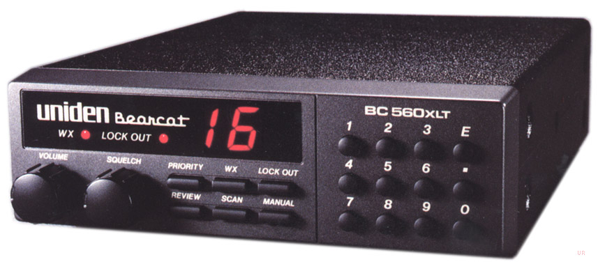 bearcat bc 560xlt scanner bc560xlt rh universal radio com Uniden Bearcat Police Scanner Radio Program Uniden Bearcat Scanner Frequency