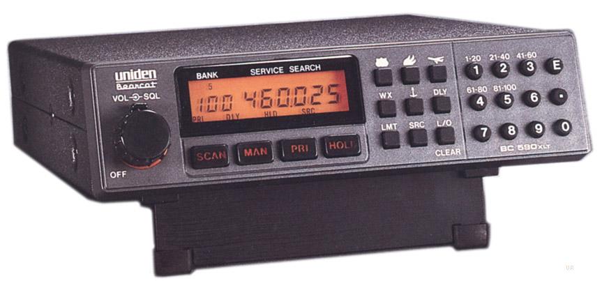 Uniden Bearcat Ezi33 Xlt Handheld Radio Scanner Airband Vhf Uhf Fm