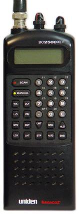 bearcat bc2500xlt uniden bearcat 2500xlt rh universal radio com