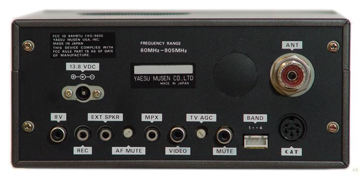 Yaesu Frg 9600 Vhf Receiver Frg9600