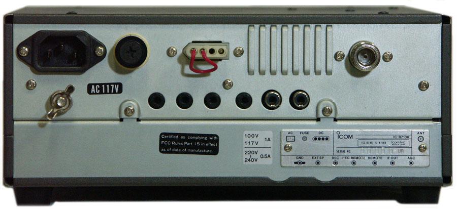 icom r7100 ic r7100 receiver rh universal radio com Icom IC R7100 Manual Icom IC 7100 Review