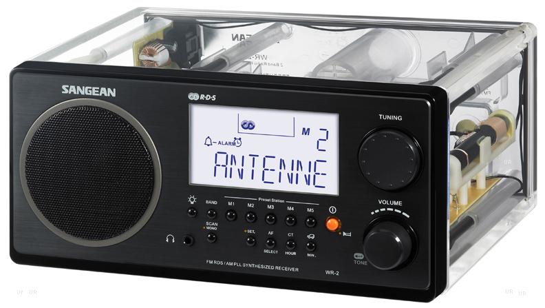Sangean WR2 Radio WR 2