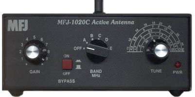 MFJ-1020C, mfj1020 Active Shortwave Antenna