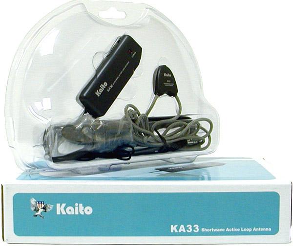 Kaito Ka33 Active Loop Antenna Ka