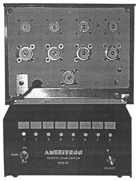 Ameritron RCS10 RCS-10 Antenna Switch