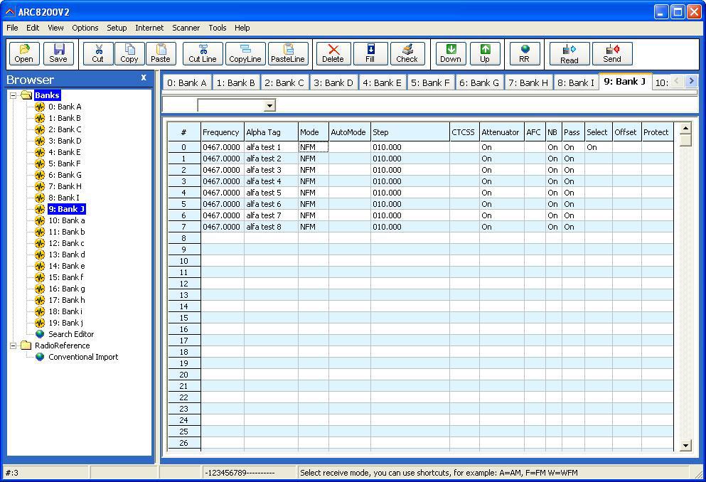 BuTel ARC8200V2 Software for AOR AR8200 and AR8600